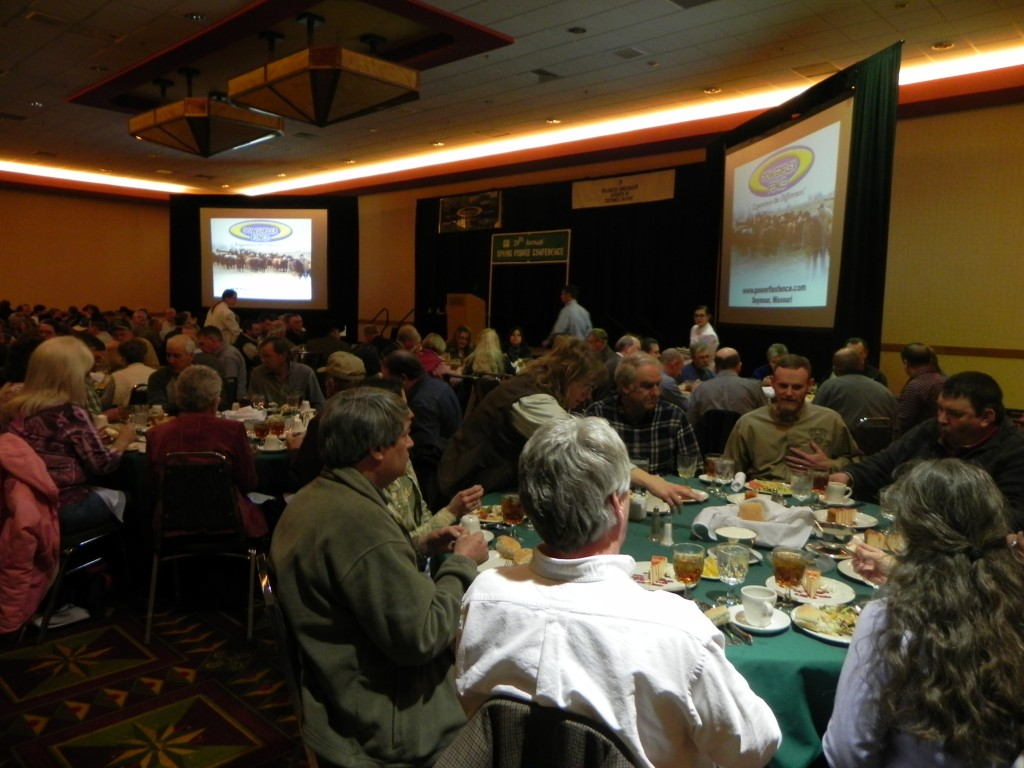 2013 Mid America Grazing Conference Banquet